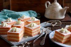Juditka konyhája: ~ FLAMINGÓ SZELET ~ Waffles, Bakery, Cheesecake, Deserts, Sweets, Breakfast, Food, Autumn, Morning Coffee