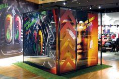 Nike Mercurial Pop-Up Experience Booth, Dubai