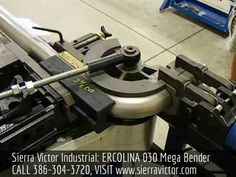 Available at Sierra Victor Industrial: ERCOLINA 030 Mega Bender. For more information or to order, CALL 386-304-3720, VISIT http://sierravictor.com/index.php?dispatch=products.view&product_id=1380