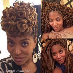 ***Try Hair Trigger Growth Elixir*** ========================= {Grow Lust Worthy… Dreadlock Styles, Dreads Styles, Curly Hair Styles, Natural Hair Styles, Goddess Locs, Coiffure Hair, Hair Locks, Dreadlock Hairstyles, Natural Hair Inspiration