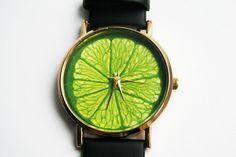 YOUR WATCH Leather Watch Girlfriend gift Women by SovietCrimea
