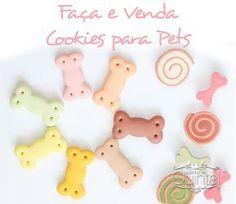 Faça & Venda Cookies para Pets e fature!! Na Cozinha do Quintal