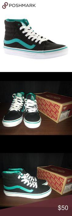Vans Sk8-Hi Slim Vans Sk8-Hi Slim Columbia/Black Vans Shoes