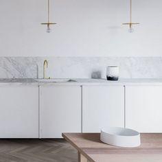 Stunning Minimalist Kitchen Decor and Design Ideas (67)