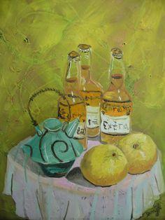 Beer, Fruit, and Teapot | Darryl Freeman