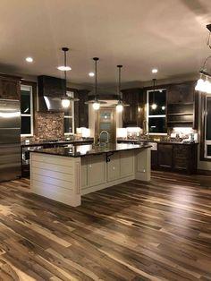 home decor Prefinished Solid Brazilian Macchiato Pecan Wood Hardwood Flooring Sample Home Decor Kitchen, New Kitchen, Home Kitchens, Cozy Kitchen, Kitchen Sinks, Country Kitchens, Kitchen Modern, Apartment Kitchen, Kitchen Layout