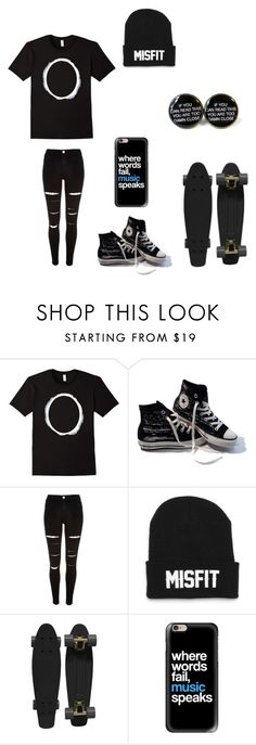 """""""Untitled #101"""" by darksoul7 on Polyvore featuring Converse, River Island, Retrò and Casetify"""