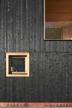 Foto: Adolf Bereuter The Effective Pictures We Offer You About glass facade A quality picture can tell you many things. You can find the most beautiful pictures that can be presented to you about hori Detail Architecture, Timber Architecture, Parametric Architecture, Drawing Architecture, Architecture Portfolio, Timber Cladding, Exterior Cladding, Wooden Facade, Glass Facades