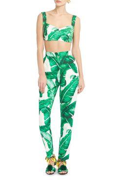 Mood: Dolce & Gabbana Palm Prints
