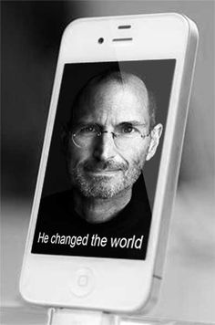 Steve Jobs 1955-2011. Thank you for making the world more beautiful ❤