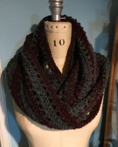 First crochet cowl of the season Cowl, Crochet, Handmade, Fashion, Crochet Hooks, Hand Made, Moda, La Mode, Crocheting