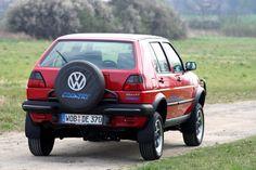 Volkswagen Golf Country 1990-1991.