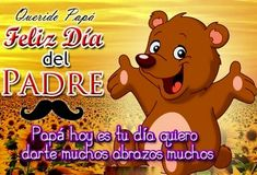 Frases dia del padre 2019 originales | El Banco de IMAGENES GRATIS Message For Father, Winnie The Pooh, Disney Characters, Fictional Characters, Messages, Love You Dad, Happy Fathers Day Images, Fantasy Characters