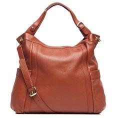 Presa Kennington Oversized Chestnut Leather Hobo Bag | Overstock™ Shopping - Great Deals on Presa Hobo Bags