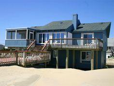 Sandbridge Beach - Oceanfront Vacation Home / Siebert Realty / Virginia Beach, VA  - Sea Watch - 3280 Sandfiddler Road