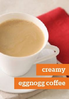 Creamy Eggnog Coffee
