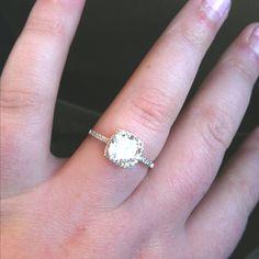 I like the thin diamond covered band