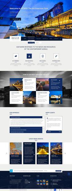 Web • Renar Template