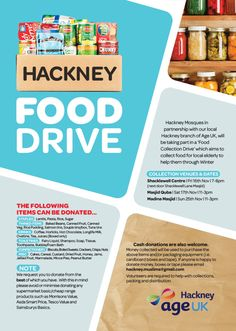 food drive poster - Bing images … | AIM Hunger Ministries ...