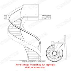 prefabricated steel spiral staircase design View prefabricated steel spiral staircase Demose Product Details from Foshan Demose Hardware Products Co Glass Stairs, Metal Stairs, Concrete Stairs, Floating Stairs, Wooden Stairs, Steel Stairs Design, Spiral Stairs Design, Staircase Design, Stair Design