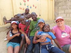 My mom, sister, sister-in-law, and the boys from House of Hope Orphanage in Haiti.  The Haiti Mission Team www.facebook.com/thehaitimissionteam