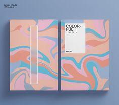 Book Cover Design, Book Design, Layout Design, Portfolio Covers, Portfolio Book, Yoon Ara, Packaging Design, Branding Design, Poster Design