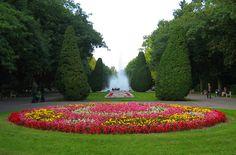 Dywan kwiatowy Park Planty