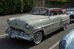 . Opel Olympia Rekord, Bj 1954, aufgenommen in Diekirch am 20.09.2014, während der Pause der FIVA World Rally Luxemburg.