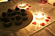 valentine's cupcakes! lovely atmosphere