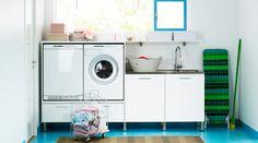 Hitta inspiration till din garderob, tvättstuga och förvaring