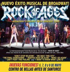 ¡Se abren NUEVAS FUNCIONES! ROCK OF AGES - El Musical AHORA el 6, 7, 8 y 9 de mayo en el Centro de Bellas Artes de Santurce. ¡REVIVE LA ÉPOCA DE LOS 80's! Una historia de amor contada a través de grandes éxitos de íconos del ROCK: JOURNEY, STYX, REO Speedwagon, FOREIGNER, PAT BENATAR, WHITESNAKE, y muchos otros. Detalles en ticketpop.com  #rockofages #musical #broadway #ticketpop #80'srules #eighties @RockofAgesSanJuan \m/
