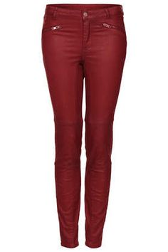 Really need these ox blood coated skinny jeans
