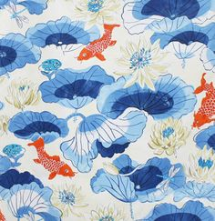 Totally fabulous #koi fabric just arrived and now available by the yard!