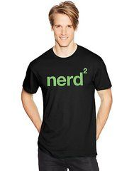 Hanes Men's NERD SQUARED Graphic Tee (in Sizes Small - 3XL)