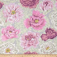 April 13 Collection Brocade Peony Mauve $7.82/y  Designer Philip Jacobs Manufacturer Westminster/Rowan Fabrics Collection April 13 Collection