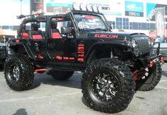 Wrangler Rubicon. What a tire!!