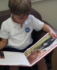 The story 'Owen & Mzee: A Day Together' has touched the hearts of our Prek friends.