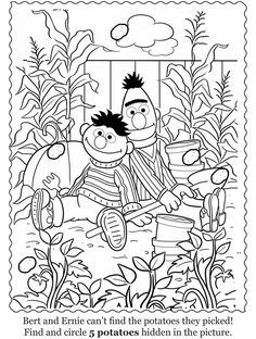Free hidden object in pictures for kids Coloring Pages and