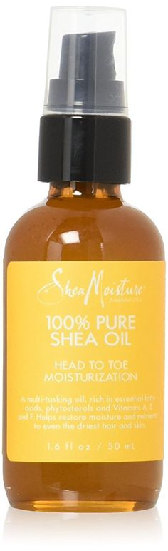 SheaMoisture Shea Moisture Pure Shea Oil, 1.6 Ounce