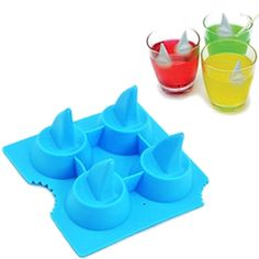 free shipping new Shark Shape Mold Silicone Mold Cooking Tools Cookie Cutter Ice Molds Ice Trays Ice Cream Tools Ice Cube Tray