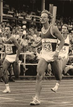 21.8.1987@Potsdam (Germany)@Jens Carlowitz (n. 143) 2nd place and Mathias Schering@(European Record: Erwin Skamrahl West Germany~44''.50~26.7.1983 Munich) Potsdam Germany, 400m, European Championships, Track And Field, Munich, Sumo, Wrestling, Sports, Vest