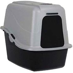 cat litter box covered hooded pan lid set kitten kitty pet supplies enclosed