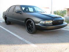 95 Chevy Impala SS with satin paint-http://mrimpalasautoparts.com