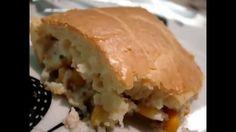 Torta de frango - Ingredientes:  - 2 ovos  - 250ml de leite  - 125ml de óleo - 1 pitada de sal  - 1 1/2 xícara de farinha de trigo  - 15gr de queijo parmesão  - 1 colher (sopa) de fermento em pó  ** forma retangular 23X34 cm