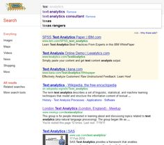Instant results when searching via Google