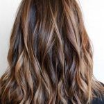 Layered-Haircut-Brunette-Balayage-Hair-Styles-for-Medium-Length-Hair