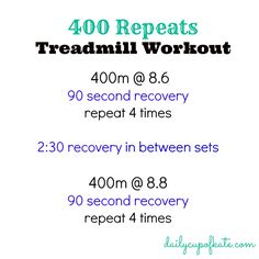 400 repeats running workout
