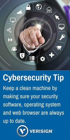 National Cybersecurity Awareness Month Tip of the Day. #CyberAware