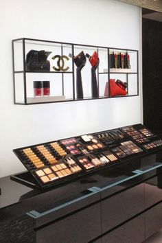 Visual Merchandising   Display: : CHANEL'S FLAGSHIP STORE IN LONDON IS A UNIVERSE CREATED BY DESIGNER KARL LAGERFELD