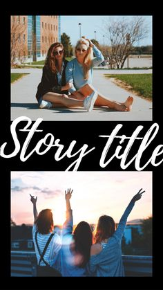 Story title Instagram Story Template